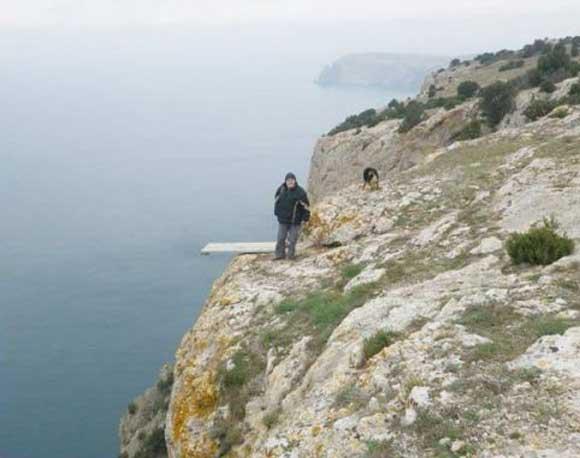 Опасные обрушения берегов | Деградация Севастополя