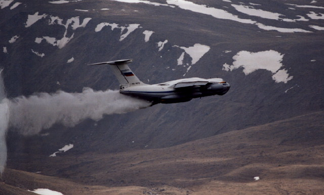 ИЛ-76, военно-транспортный самолёт