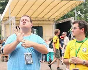 язык жестов глухих