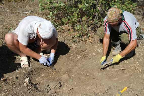 Севастопольские поисковики отыскали останки защитника города