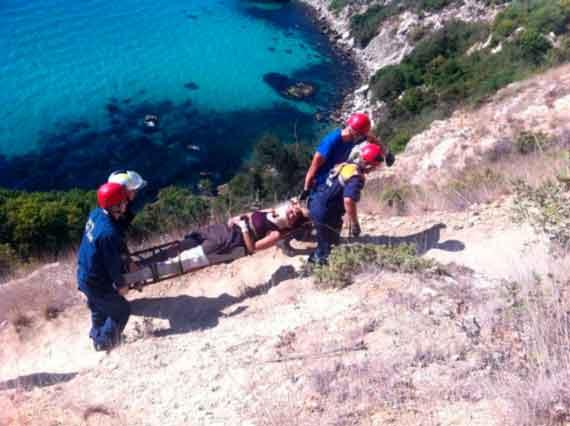 Под Севастополем женщина сорвалась впропасть— МЧС