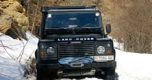 Land Rover, Crimea