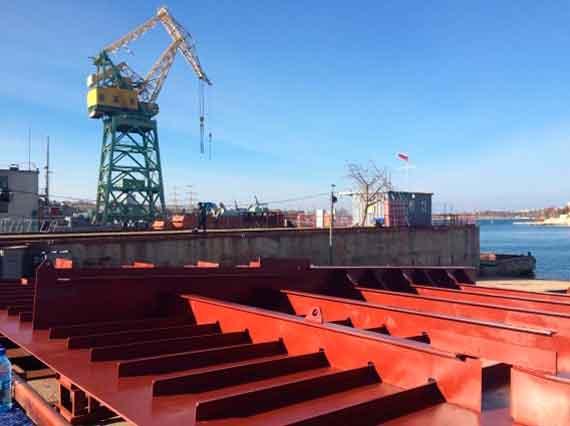 «Севастопольский морской завод» заложит плавкран «Севастополь» 24ноября текущего 2017г