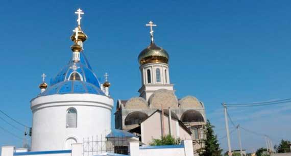 храм Державной иконы Пресвятой Богородицы на Красной горке в Севастополе