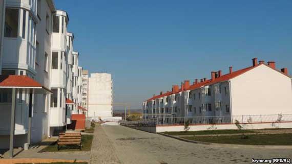 Новый дом для переселенцев с Цементной слободки, Керчь, март 2017 года