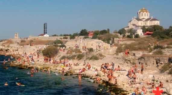 купание в Херсонесе