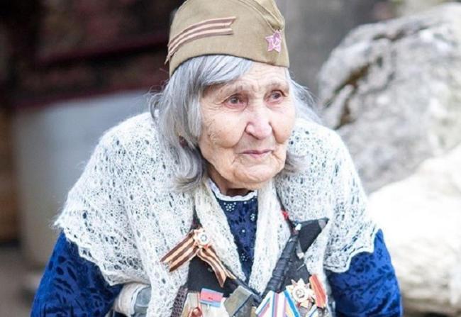 ветеран Великой Отечественной войны Шевкие Абибуллаева – знаменитая баба Шура из села Камышлы